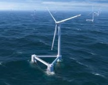 Windfloat: one of the current leading floating wind technologies.